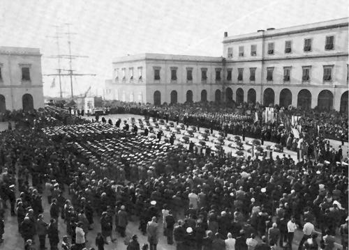 La cerimonia funebre